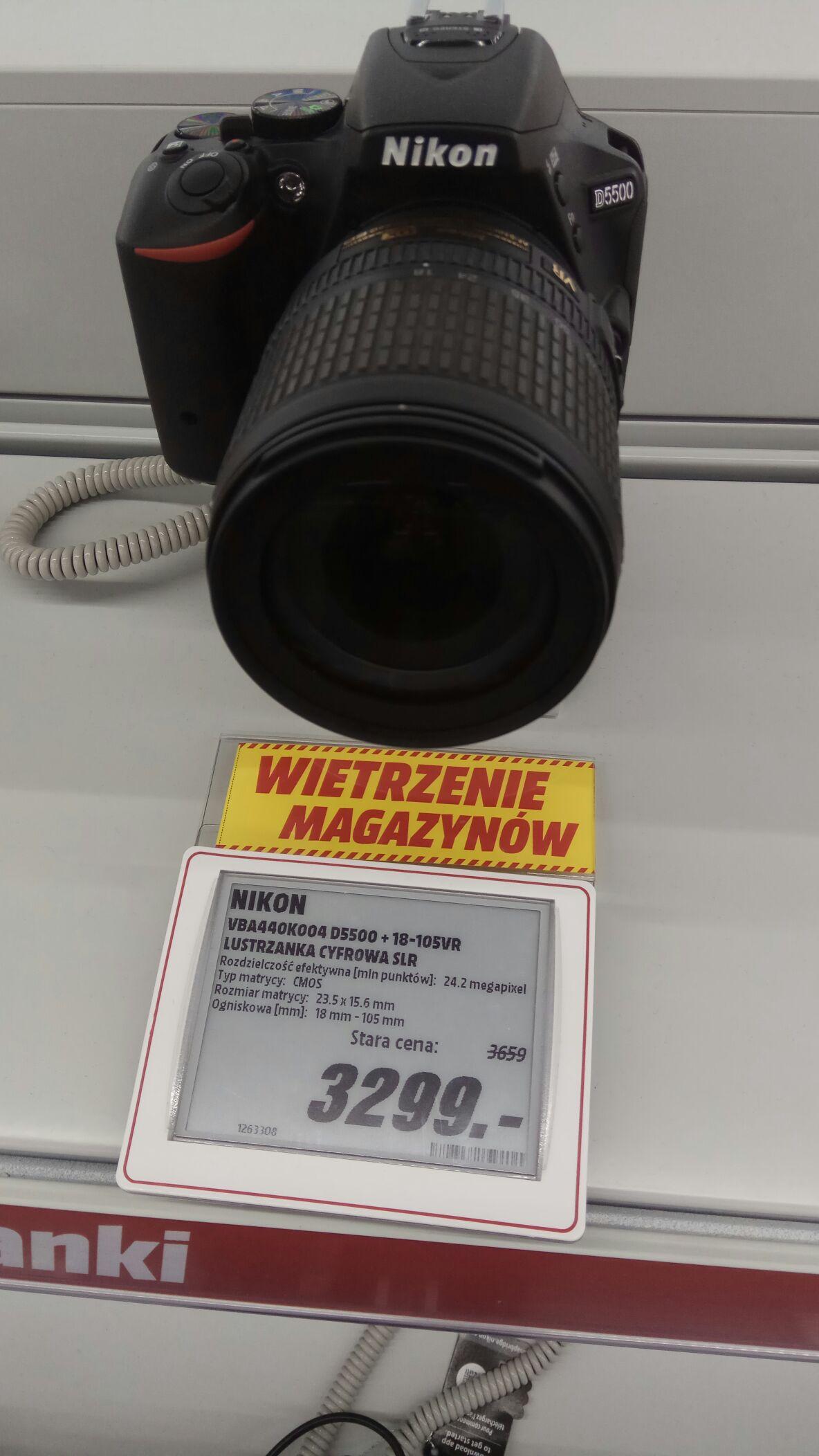 Nikon D5500 18-105mm
