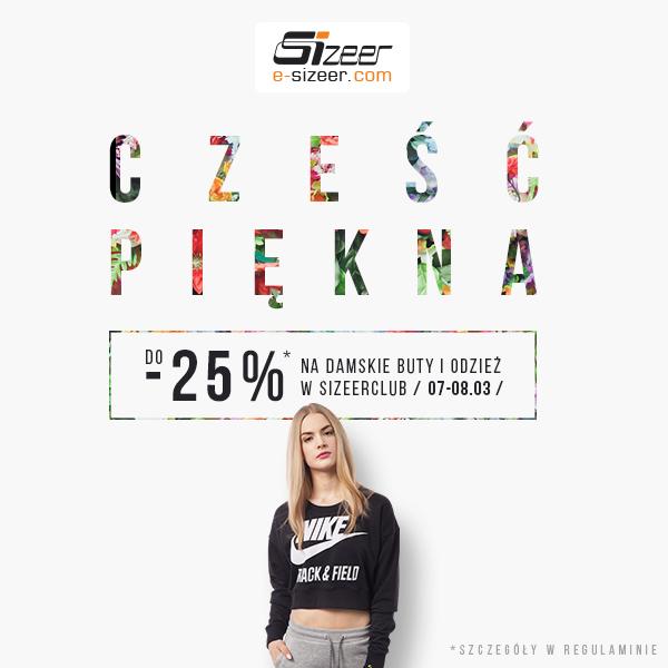 Do -25% na odzież i buty damskie (DZIŚ) @ Sizeer