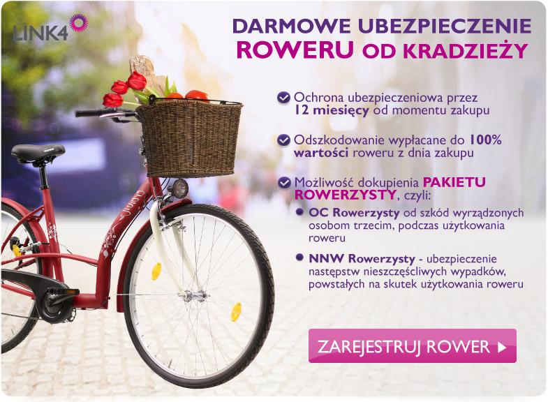 DARMOWE ubezpieczenie od kradzieży (12 miesięcy) przy zakupie roweru @ Tesco