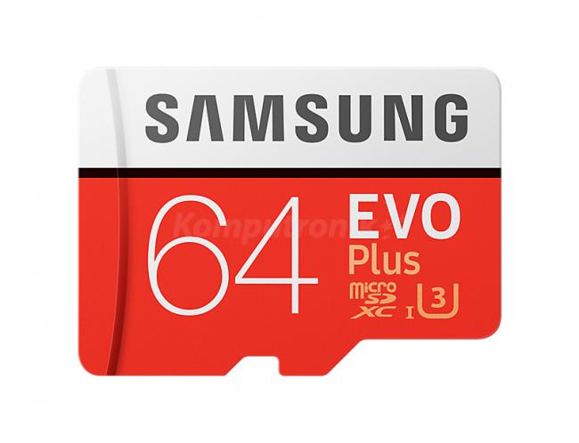 Samsung EVO PLUS 64GB [Z 60MB/s O 100MB/s] polska gwarancja - komputronik.