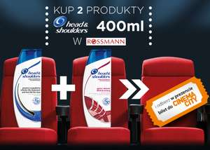 Bilet do Cinema City za zakup Head Shoulders @ Rossmann
