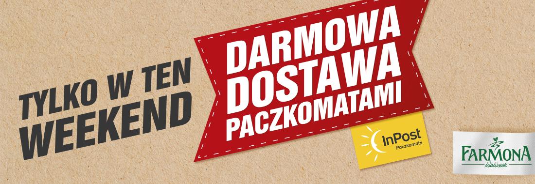 DARMOWA DOSTAWA do paczkomatów w sklepie online Farmona