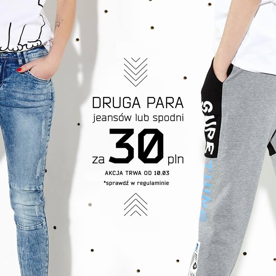 Druga para jeansów/spodni za jedyne 30zł @ Cropp