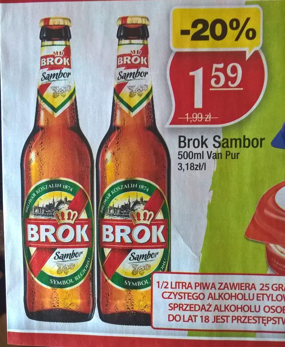 Piwo BROK Sambor | 500ml | Butelka zwrotna