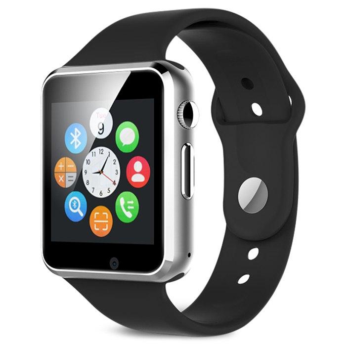 """A1 smartwatch za niecałe 30zł (1,54"""", krokomierz, slot na kartę SIM) @ Rosegal"""