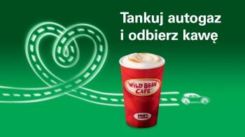 Duża kawa za 2zł za zatankowanie 20l LPG @ BP