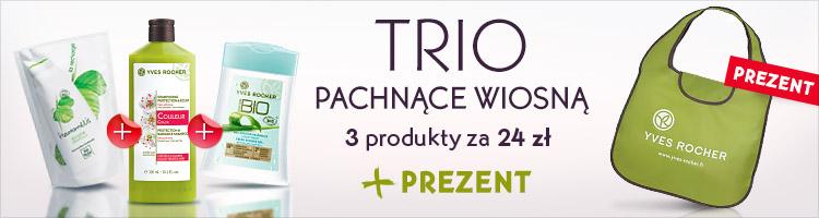Trzy produkty za 24zł + torba GRATIS @ Yves Rocher