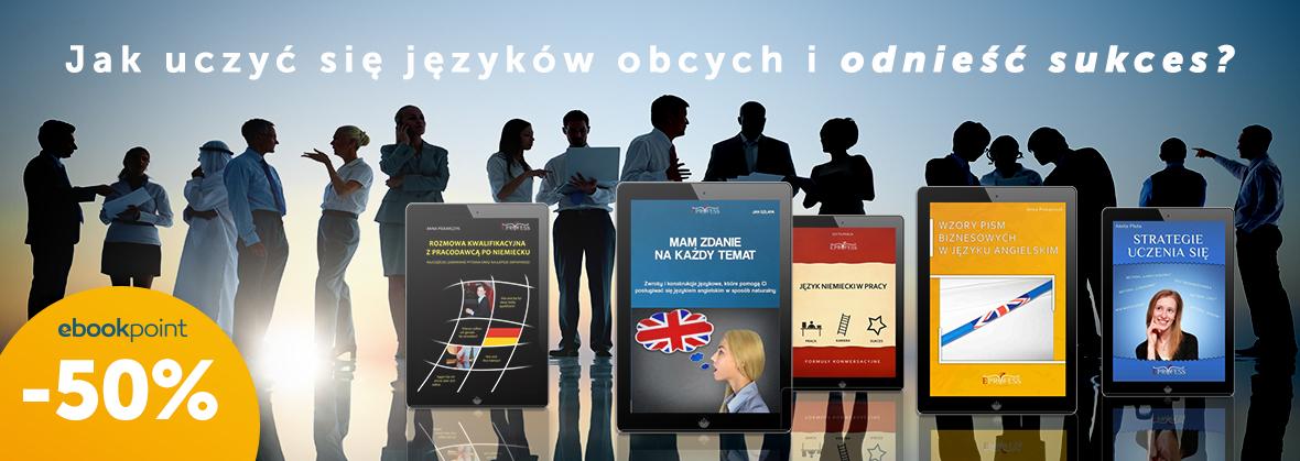 Języki obce (ebooki) -50% @ ebookpoint