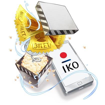 Doładuj telefon w Orange w aplikacji IKO i odbierz 2 bilety do kina Cinema City