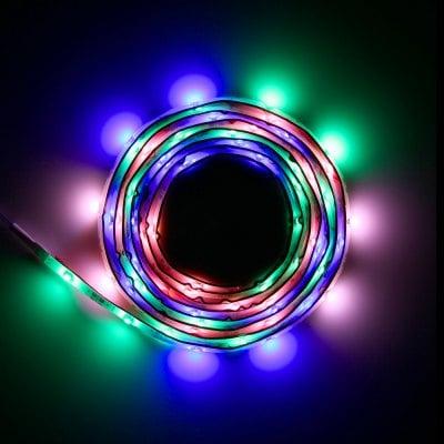 2 metry LEDów: 8 różnych ustawień za 21.43zł