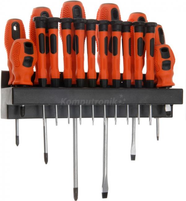 Komputronik - FX Tools Zestaw wkrętaków 18 szt.