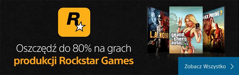Przecena gier Rockstar do -80% (Seria GTA, Max Payne, L.A Noire, Red Dead Redemption i inne) @Playstation Network