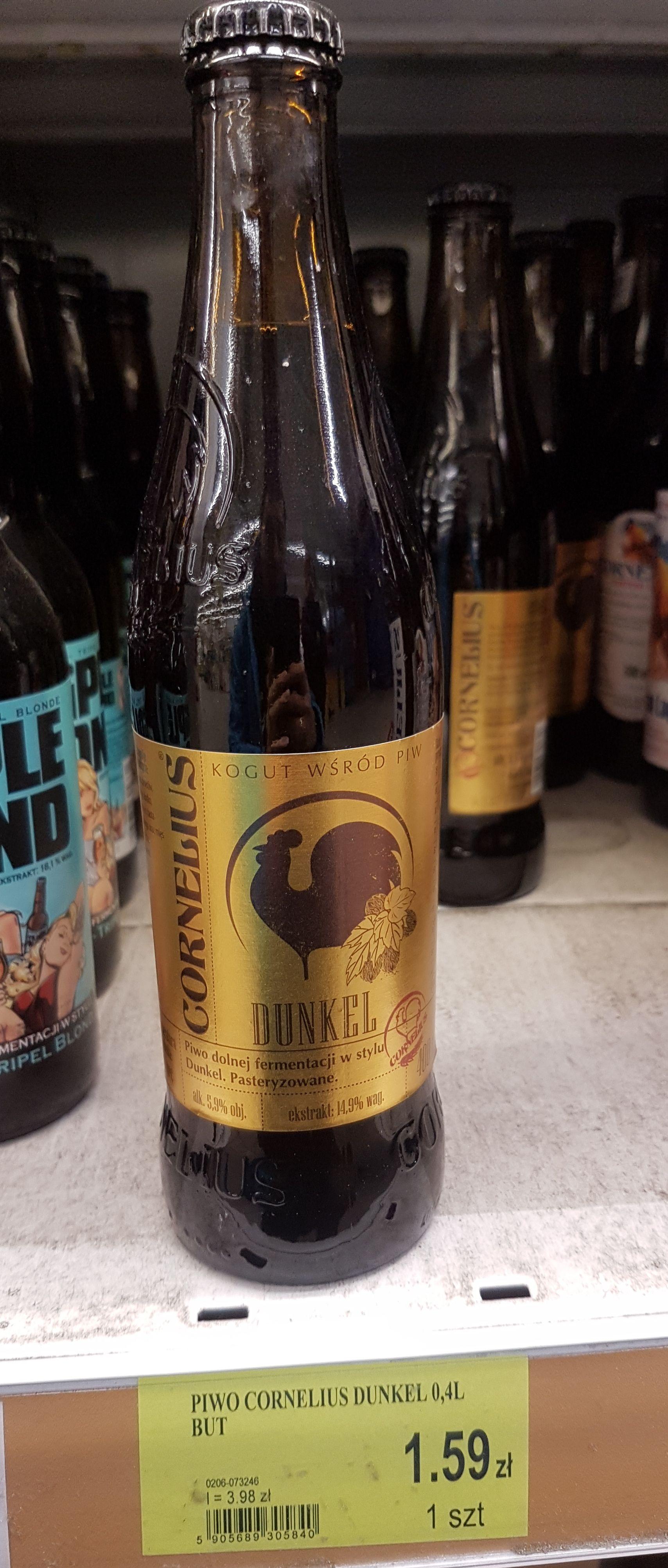 Cornelius Dunkel 0.4 l piwo