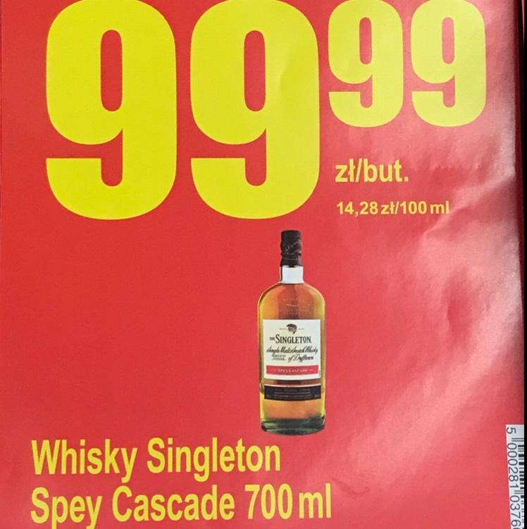 Whiskey Singleton 99,99 za 0,7