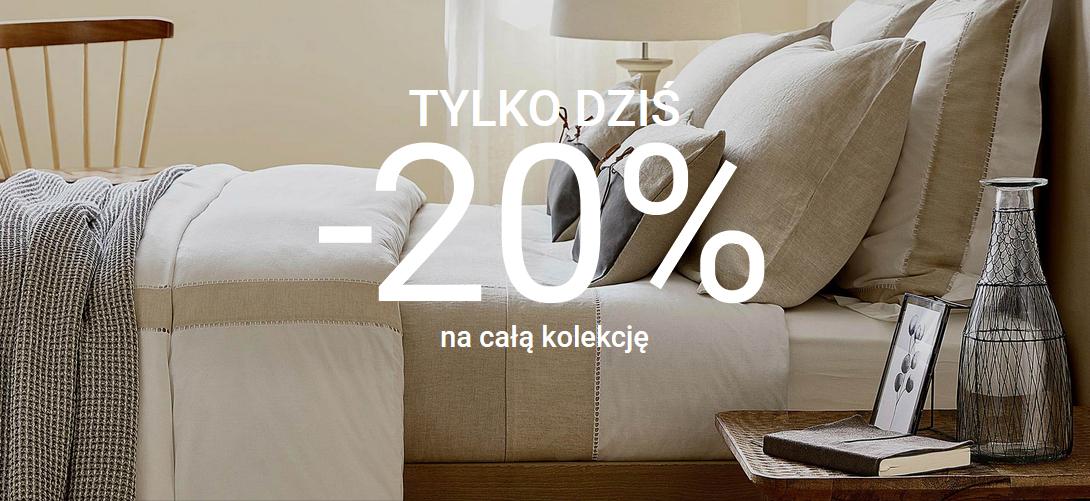 -20% na całą kolekcję + darmowa dostawa @ Zara Home