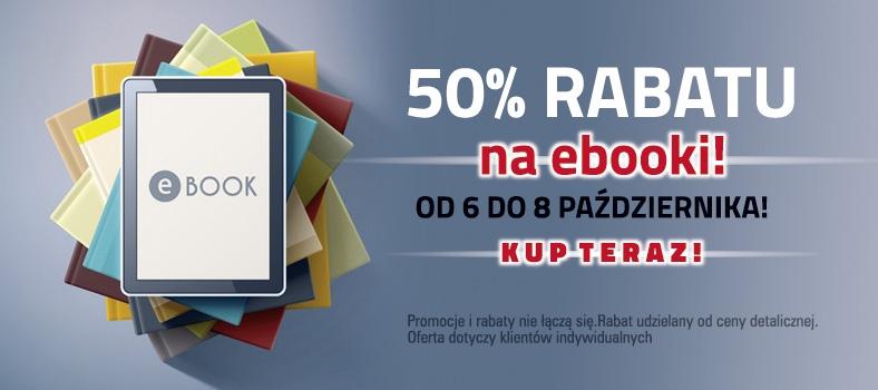 50% rabatu na wszystkie ebooki @ Czarna Owca