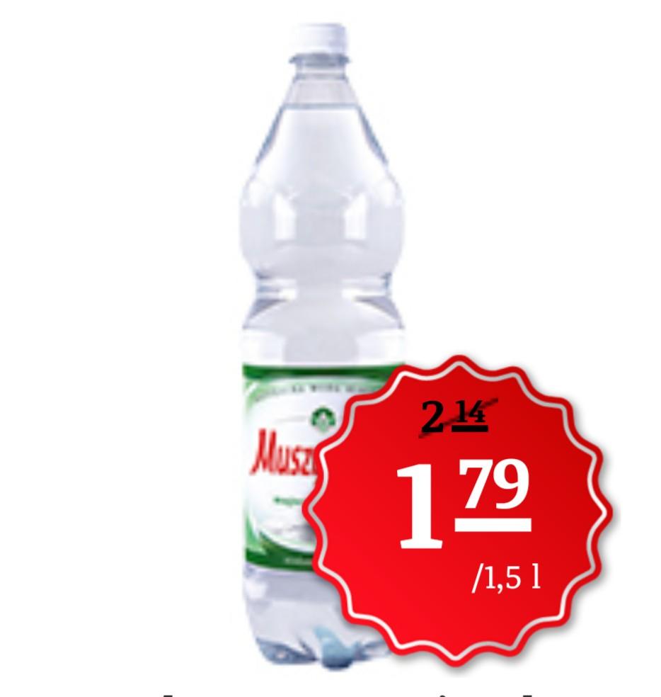 Muszynianka 1,5l za 1,79 zł @ Simply, Auchan