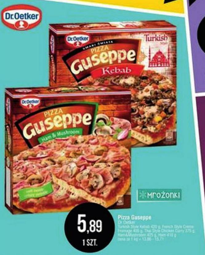 Pizza Guseppe różne smaki @E.Leclerc