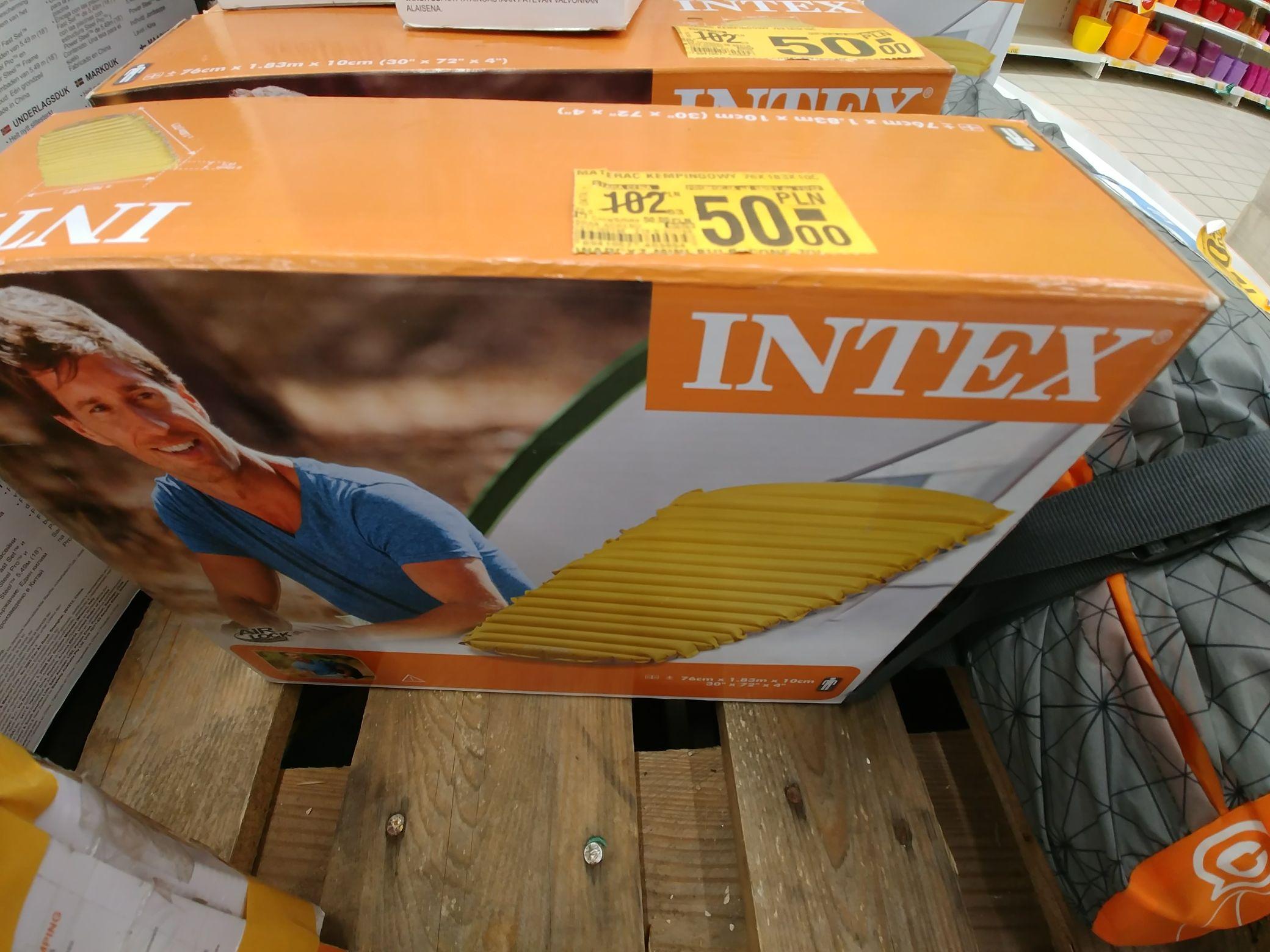 Materac dmuchany 189x70 INTEX Auchan