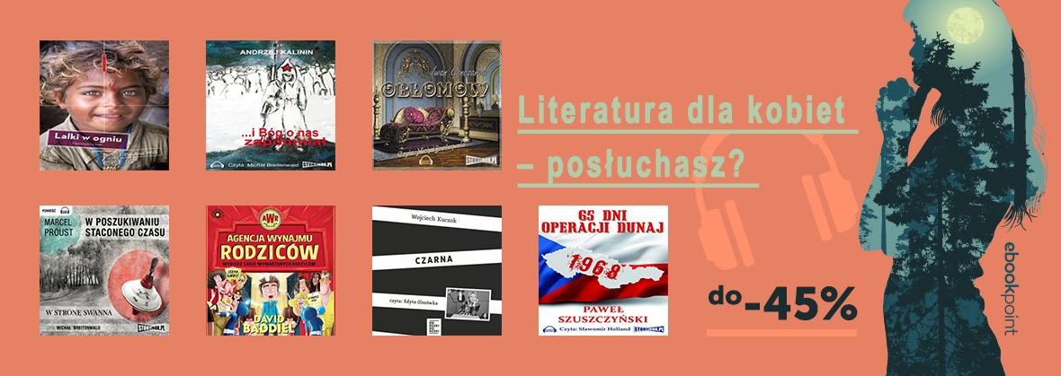 Audiobooki: literatura dla kobiet (nie tylko) do 45% taniej @ ebookpoint