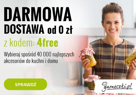 Darmowa dostawa (brak MWZ) @Garneczki.pl