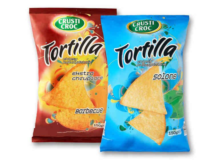 2x Crusti Croc Tortilla Chips 150 g (1,94 zł za szt.) @ Lidl od 12.10