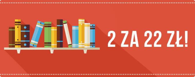 2 książki za 22 zł @ Tania Książka
