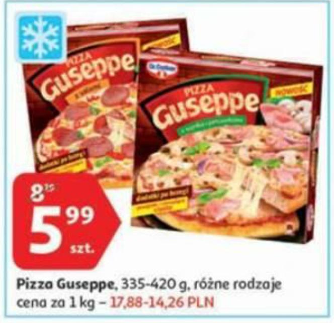Pizza Guseppe różne rodzaje @Auchan