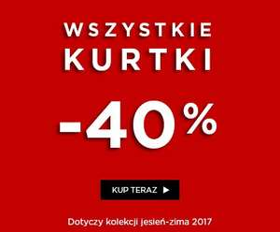 -40% na kolekcję jesienną (stacjonarnie i online) @ 5.10.15