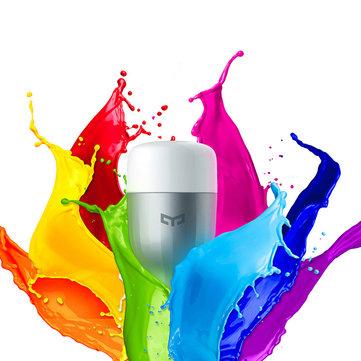 (AKTUALIZACJA) OD 18:00 Żarówka Xiaomi Yeelight AC220V RGBW E27 Smart LED