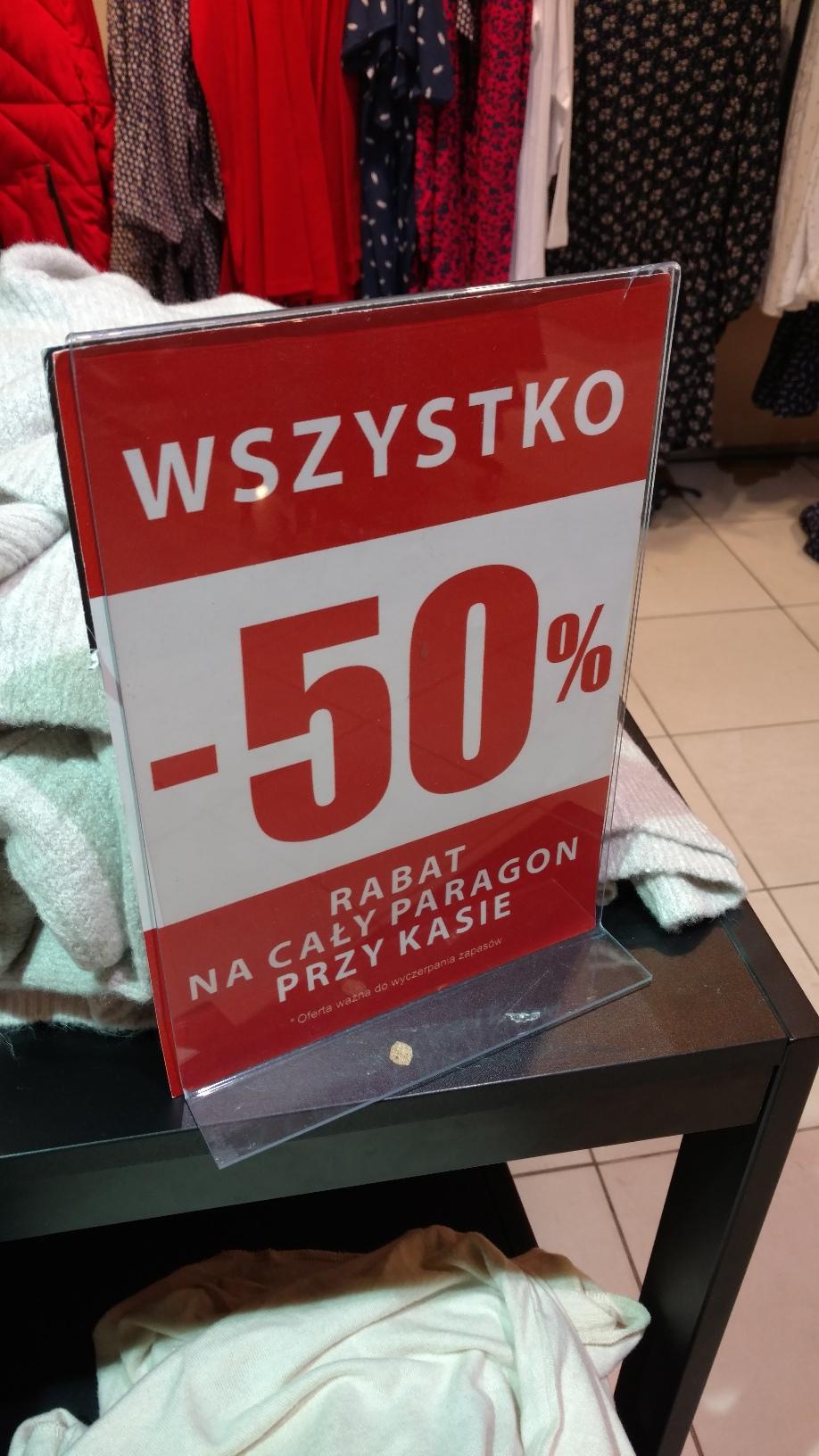 Carry -50% na cały rachunek - promocja ogólnopolska