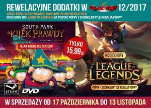 South Park Kijek Prawdy i inne w CD-Action