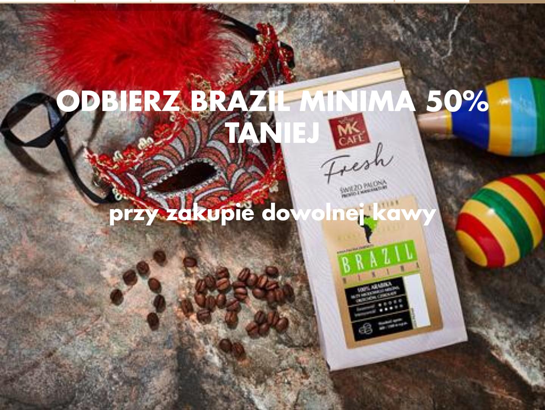 Kawa Brazil Minima 250g 50% taniej przy zakupie dowolnej kawy @Mkfresh.pl