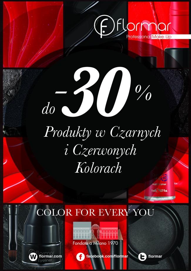 30% rabatu na wybrane produkty @ Flormar