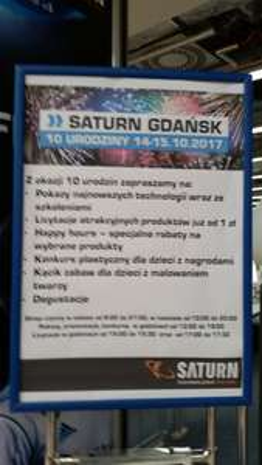 10% rabatu na konsole w Saturnie Gdańsk