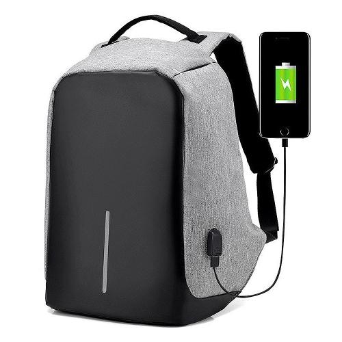 Plecak antykradzieżowy z USB (3 kolory do wyboru) @ TomTop