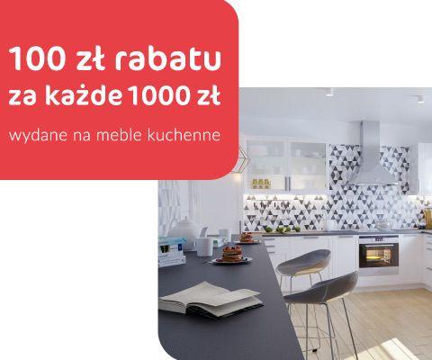 100zł rabatu za każde 1000zł wydane na meble kuchenne @ Agata Meble