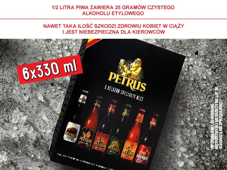 Piwo Petrus 6-pak za 26,99zł @ Lidl
