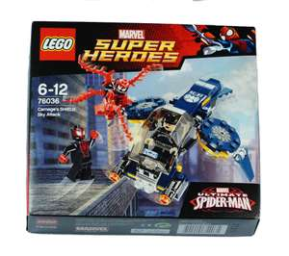 LEGO Super Heroes 76036 - Atak Carnage'a - Dodo - Toys
