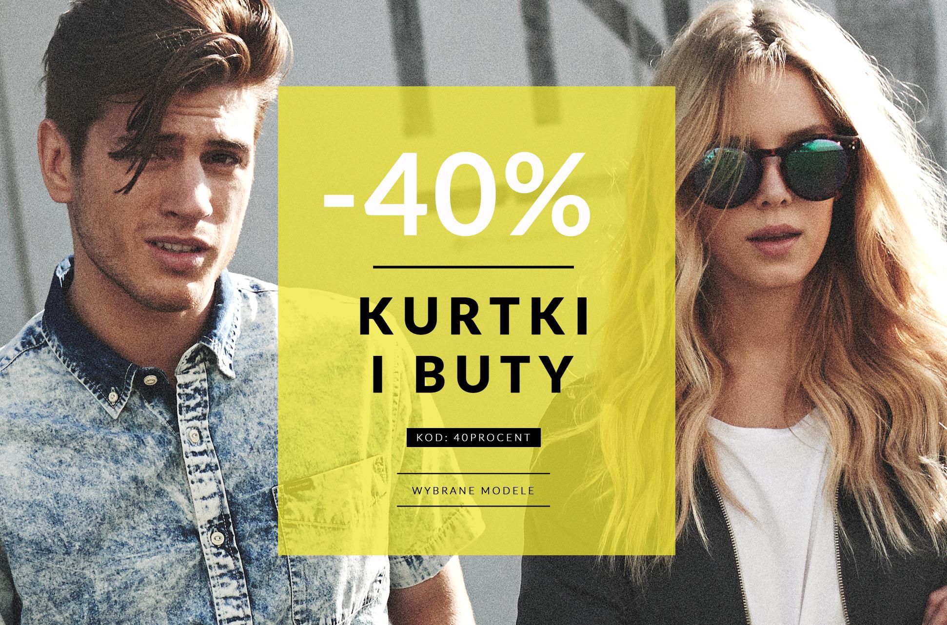Rabat 40% na kurtki i buty @ Diverse