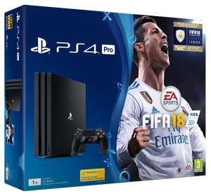 PS4 Pro 1TB + FIFA 18 + Uncharted (1,2,3) za ok. 1755zł @ ShopTo