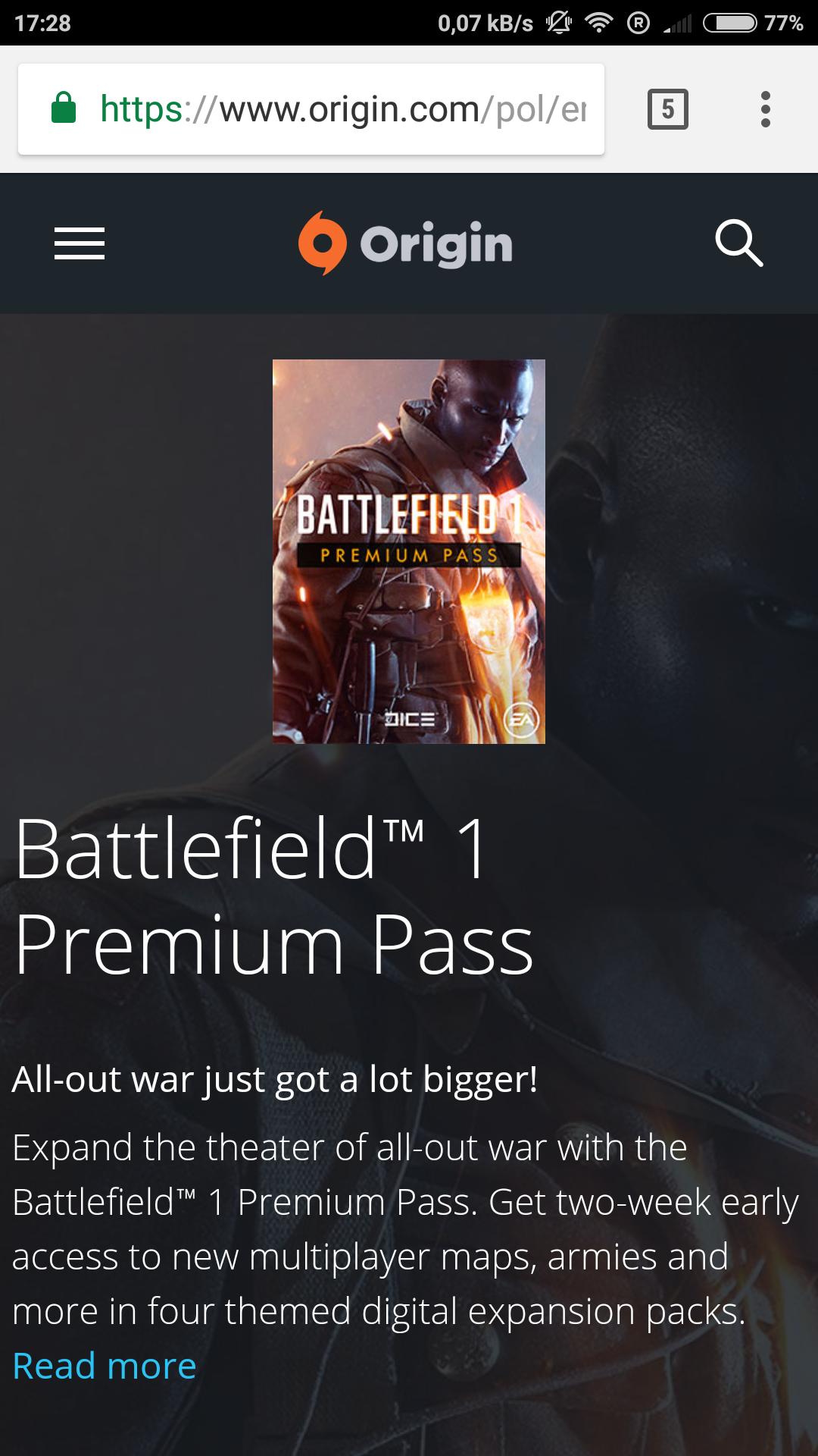 Bf1 premium pass - 50%
