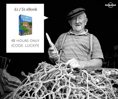 przewodnik Lonely Planet - Ireland (eBook) za 1funta (około 5,80zł) @Lonely Planet