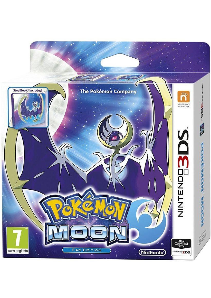 Pokemon Moon - Fan edition ze steelbookiem [Nintendo 3DS] za ~115zł z wysyłką @ SimplyGames