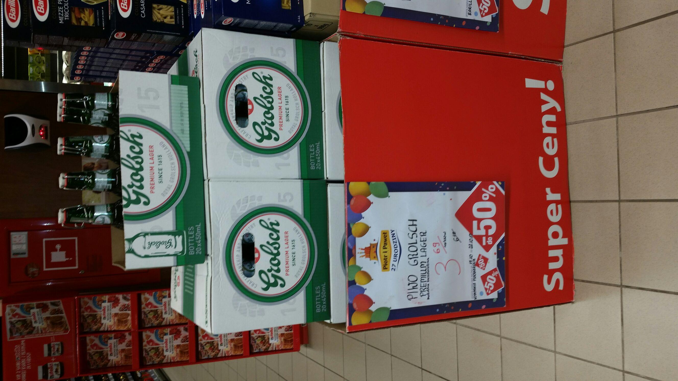 Piwo Grolsch Premium Lager 450 ml w cenie 3.69 zł w sklepie Piotr i Paweł
