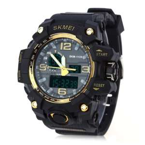 SKMEI 1155 Men Watch Golden $5.99 @Gearbest