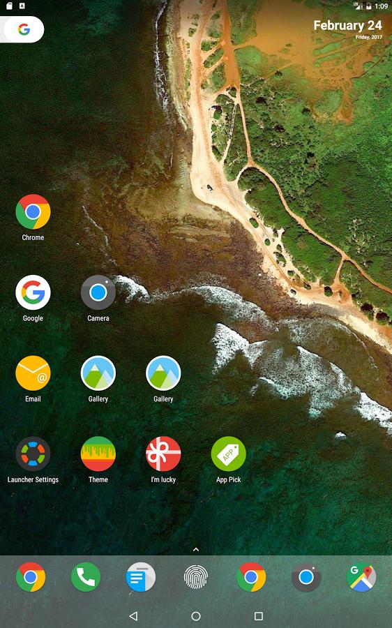 N Launcher Pro za darmo (zamiast 13,99zł) - Android 7.0 @ Google Play