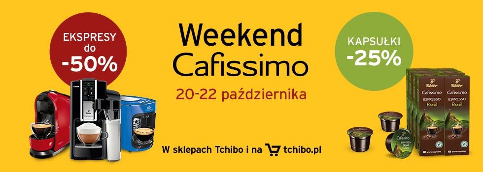 Weekend CAFFISIMO | -25% na kapsułki  -50% na  ekspresy ;-)