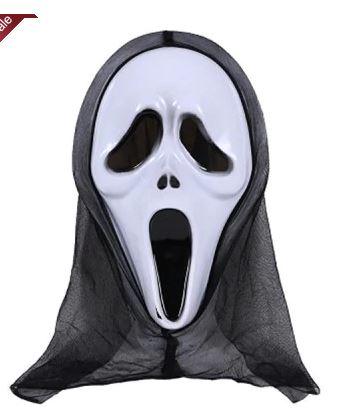 """Halloweenowa maska z filmu """"Krzyk"""""""