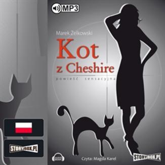 "Audiobook ""Kot z Cheshire"" za 12,90 zł. Ebook za 11,68 zł @ ebookpoint"